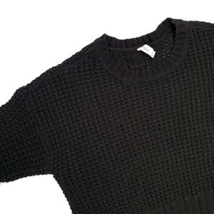Black Knit Shirt